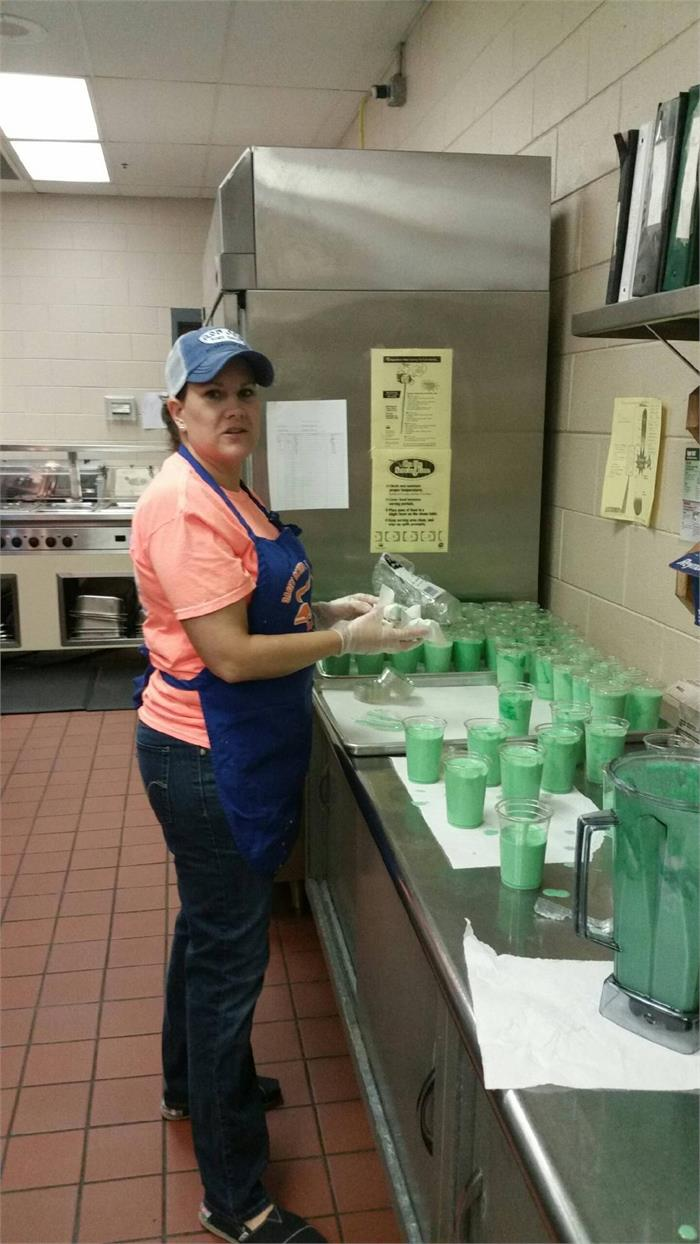 CCMS St Patrick Day Smoothies were a Hit!