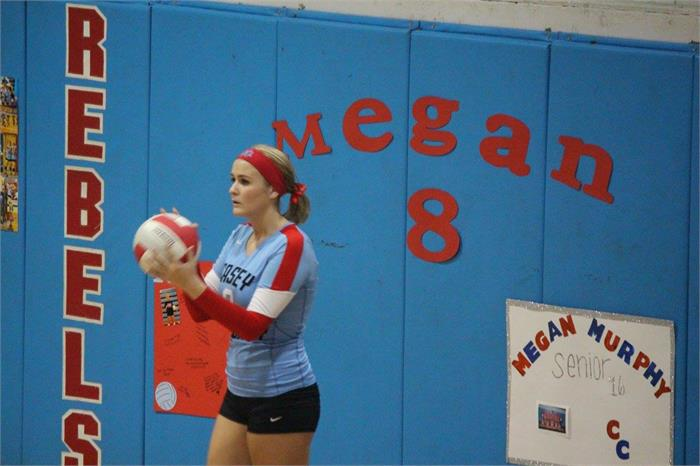 Megan Murphy Senior Night