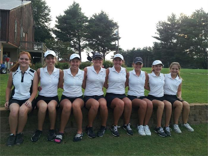 2014 Lady Rebels Golf Team