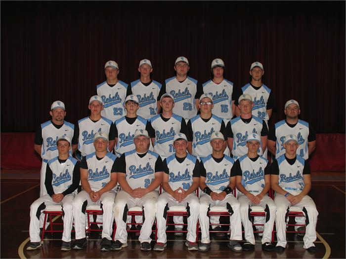 2015 Rebels Baseball Team