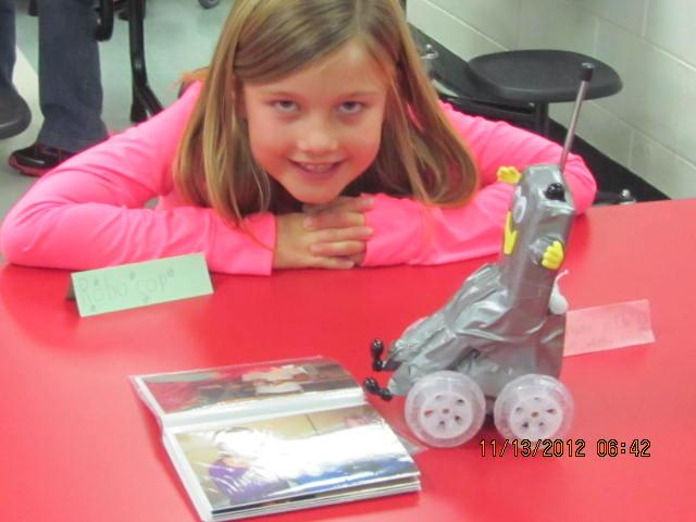 2nd Grade Robot Project