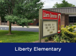 Liberty Elementary building